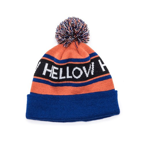 1819-LOGO BEANIE- ORANGE